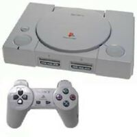 Sony Playstation One Ps1 With Everything You Need. Controller, Cords, And - Game