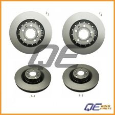 Front & Rear Disc Rotors Brake Kit (4Pcs) Brembo For: Audi A8 Quattro 2004-2010
