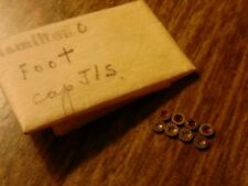 8 NOS Hamilton 0 Size Foot Cap Jewels