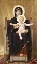 """Art Repro oil painting:""""Virgin Mary and little baby at canvas"""" 24x36 Inch"""