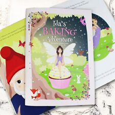 Personalised Fairy Baking Adventure Childrens Cookery Story Book Gift For Girls