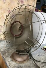 Vintage Westinghouse 16SD3 Oscillating Tilting 3 Speed Fan-Works Great