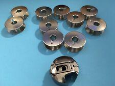 Spulenkapsel +10 Metall Spulen Umlaufgreifer für Pfaff und Gritzner Nähmaschinen