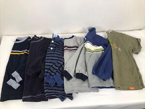 Gymboree Boys Size 4 Lot Of 6 Shirts 5 Long 1 Short Sleeve Old Label