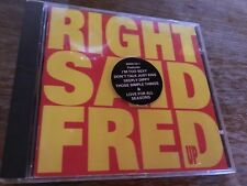 RIGHT SAID FRED - UP - CD ALBUM - I'M TOO SEXY / DEEPLY DIPPY / SWAN +