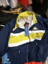 Kappa Jackets Navy/lime 36/38Nch Inch Bnwl At £25 Rrp £49.99 full Zip
