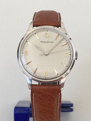 Jaeger Lecoultre Swiss Vintage Steel Hand Winding watch caliber P450/4C 50' runs