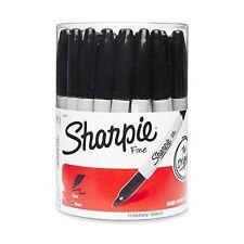 Sanford 35010 Sharpie Black Fine Point Marker IN a Tub - Quantity 36 EACH