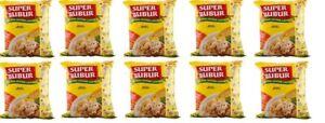 10x Super Bubur Instant Chicken Porridge Congee - Instan Rasa Ayam 45g Halal