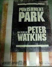 PUNISHMENT PARK - Peter Watkins - AFFICHE 120x160/47x63 FRENCH POSTER RR