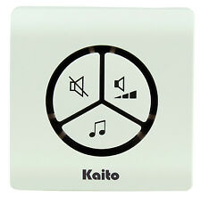 Kaito AG102 Battery Free Wireless Doorbell 25 Ringtone Waterproof