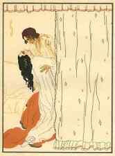 PASSION - WILDE LIEBE - Lucien ZABEL - OriginalDruckgraphik 1922