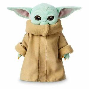 30cm Baby Yoda Plush Toy Master The Mandalorian Force Stuffed Dolls Gift Kids N1