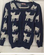 ModCloth Kitty Cat Intarsia Sweater Euc M