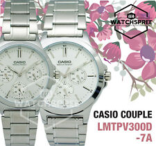 Casio Couple Watch LTPV300D-7A MTPV300D-7A