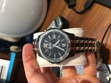 Seiko SKA551 SKA551P9 Mens Kinetic Watch black NEW WR50m RRP $650.00