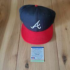 Greg Maddux Atlanta Braves signed autographed Hat COA PSA/DNA #AI82560