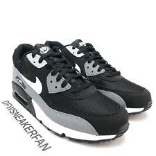 Nike Air Max 90 Essentials Cool Grey Men's 13 Black White Running AJ1285-018