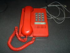 Northern Telecom Touch Tone Desk Telephone, Nice, Red, Excellent Condition