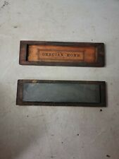 ANTIQUE - GRECIAN HONE SHARPENING STONE - FOR EDGED TOOLS - NICE SHAPE
