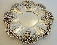 REED & BARTON FRANCIS 1ST STERLING SERVING PLATE 1950