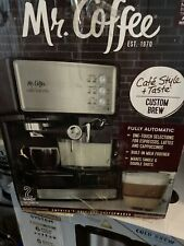 Mr. Coffee BVMC-ECMP1000-RB Café Barista Espresso and Cappuccino Maker -...