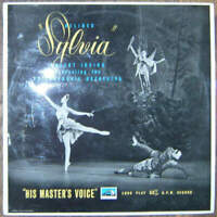 Robert Irving Conducting The Philharmonia Orchestra - Léo Delibes - Sylvia (LP)