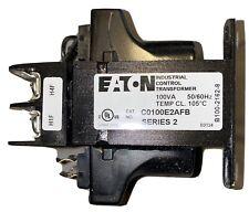 Eaton C0100E2Afb Industrial Control Transformer
