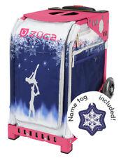 ZUCA Bag FOREVER SKATE Insert & Pink Frame w/Flashing Wheels - FREE SEAT CUSHION