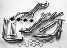 GMC Yukon 07-14 4.8L 5.3L 6.0L Long Tube Stainless Steel Headers w/ Y Pipe