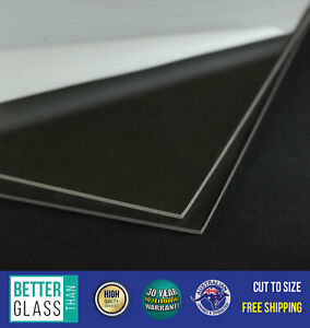 A4 x 2 Clear Acrylic Perspex Sheets (3mm) - Best Price & Quality - UV Stable