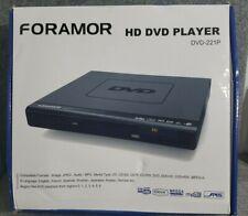 Foramor Hd Dvd Player Dvd-221P Hdmi W/ Remote Control