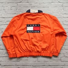 Vintage Tommy Hilfiger Big Flag Logo Sailing Jacket Size XL