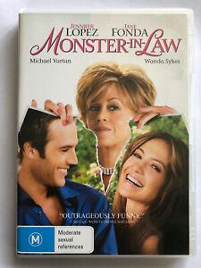 MONSTER IN LAW. JENNIFER LOPEZ, JANE FONDA. DVD