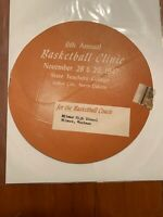 1947 Basketball Coaches Clinic Invite Advertisement State Teachers College North