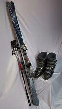 TWIN TIP SKI PKG, Primal 155cm, Used Marker Bindings, Dalbello Boots & Poles
