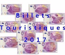 Billet touristique souvenir 0 euros plusieurs regions 2017
