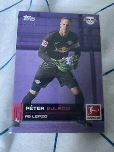 Peter Gulacsi /25 Purple  - Bundesliga Stars Of The Season 20/21 Topps On Demand