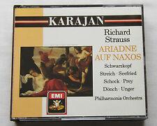 KARAJAN/STRAUSS Ariadne auf Naxos UK 2CD box EMI CMS 7 69296 2 (1988, no IFPI)