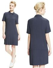Marks and Spencer Pleated Hem Shirt Dress in Grey RRP £159.00 Size 6 to 18