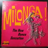 Various Artists - Milonga VG+ LP Vinyl Record Ala Nicky LPS-1001 private USA