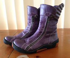 EJECT Women's Handmade Funky Boots US 8/8.5 Genuine Leather. Almost new RRP $265