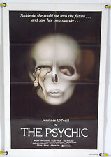 THE PSYCHIC FF ORIG 1SH JENNIFER O'NEILL, LUCIO FULCI GIALLO HORROR (1978)