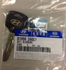 NEW Genuine OEM Hyundai XG300 Kia Borrego Key Blank Uncut 81996-39000 FREE SHIP