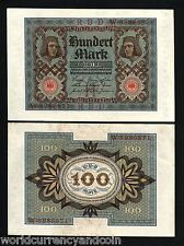 GERMANY 100M.P69 1920 BAMBERG HORSEMAN UNC SCARCE NOTE