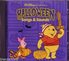 Disney Pooh Halloween Songs Sounds CD Classic Greatest Rare Mickey Tigger 1997