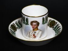 Sevres Duke of Empire City Napoleon Franz Portrait Cup Around 1901