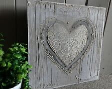 Heart  handmade by GERTRUDE NAHN textured painting