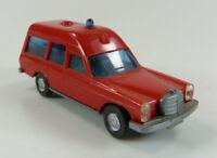 Mercedes 200 Feuerwehr rot Wiking 1:87 H0 ohne OVP [RD3-C2]