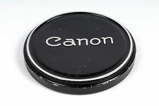Canon 60mm Front Lens Cap (for 58mm), Push-On, Metal, Black/Chrome (FL) BG